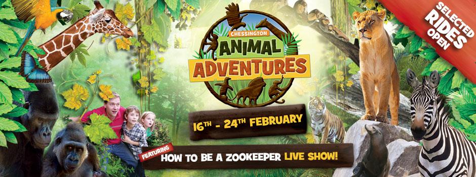 Animal Adventures At Chessington February Half Term 2019